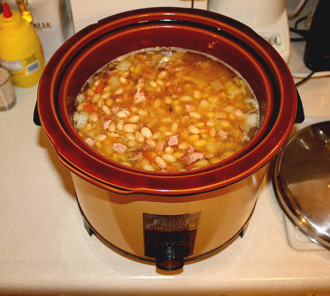 ... Course ~ Ham and Bean Soup ~ Chili con Carne ~ More Ham and Bean